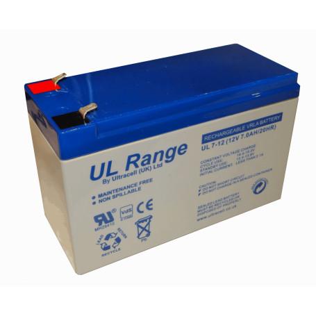 Baterias Ultracell BTA12-72U BTA12-72U ULTRACELL UL Bateria 12V 7AH Acido-Plomo Sellada AGM