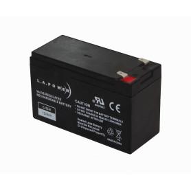 BTA12-90 - LAPOWER Bateria 12V 9AH Acido-Plomo Sellada