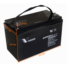 BTA12-100V - VISION Bateria...