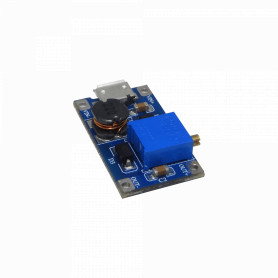 DCDC-MULTI-V -Boost Ajustable AumentaVoltaje in:2-24VDC USB/2-pin out:5-28VDC 2A-Max