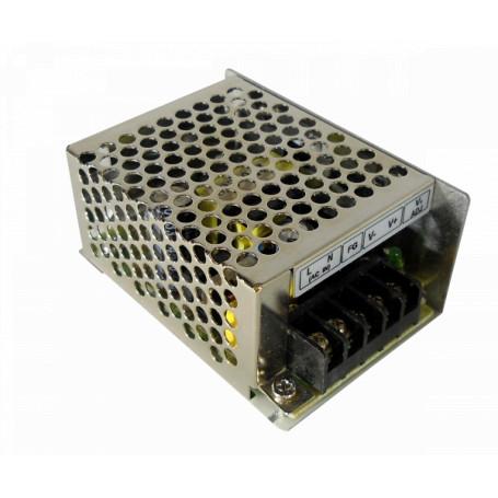 Transformador 24V Generico F24-W25 F24-W25 -24VDC 25W Fuente de poder interior regleta IP20
