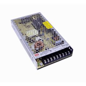 LRS-200-48 -MEANWELL 211W 48V 4,4A Ajust. Metalica Regleta Fuente Poder s/Vent.