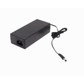 F48-W96 -48VDC 96W 2,0A Fuente Poder Plastica Plug-5,5x2,1mm inc-cable