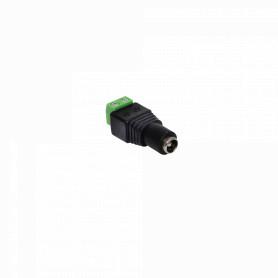 2P-2555H -5,5x2,5mm Conector Hembra Regleta-Plug 2pin
