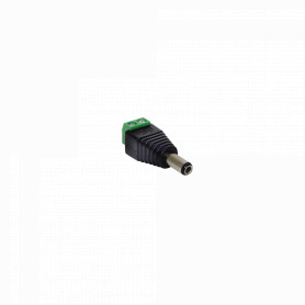 2P-2555M -5,5x2,5mm Conector Macho Regleta-Plug p/PPP12L 2pin