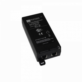 WI-POE -RADWIN Inyector PoE+ 802.3at 56V 62W 2-RJ45 inc-Cable-Pwr RW-9921-101C