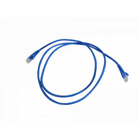 CPA-15L -LINKMADE 1,5MT CAT5E AZUL LSZH CABLE PATCH INYECTADO MULTIFILAR 1.5M