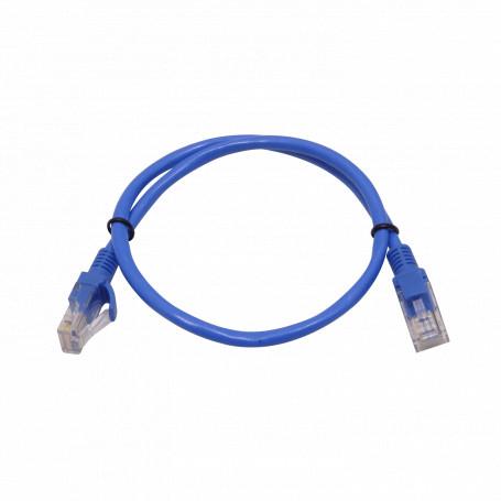 Cat5e entre 0,3 y 1,5mt Ulink CPA-05 CPA-05 -ULINK 1un 50cm 0,5mt Cat5E Azul Cable Patch Inyectado Multifilar