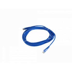 CPA-50L -LINKMADE 5MT CAT5E AZUL LSZH CABLE PATCH INYECTADO MULTIFILAR