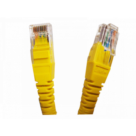 Cat5e entre 2,0 y 5,0mt Linkmade CPM-30L CPM-30L 3MT CAT5E AMARILLO LSZH CABLE PATCH INYECTADO MULTIFILAR