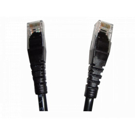 CPN-30L -LINKMADE 3MT CAT5E NEGRO LSZH CABLE PATCH INYECTADO MULTIFILAR
