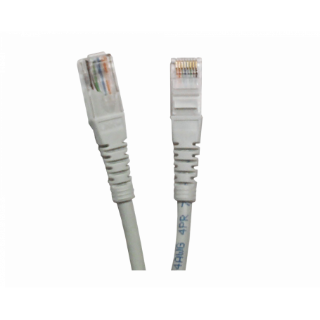 Cat5e entre 2,0 y 5,0mt Linkmade CPG-30L CPG-30L 3MT CAT5E GRIS LSZH CABLE PATCH INYECTADO MULTIFILAR