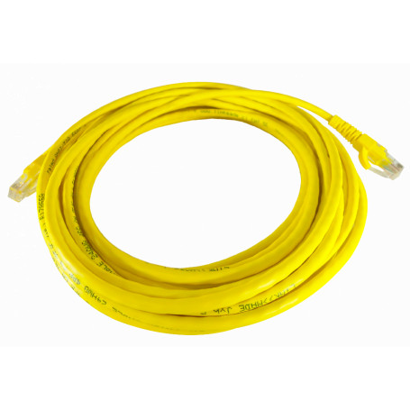 Cat5e entre 7,0 y 30mt Linkmade CPM-75L CPM-75L 7,5MT CAT5E AMARILLO CABLE PATCH INYECTADO MULTIFILAR 7.5