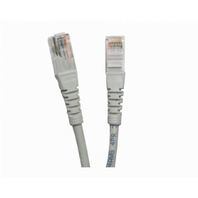 CPG-100L -LINKMADE 10MT CAT5E GRIS LSZH CABLE PATCH INYECTADO MULTIFILAR