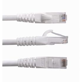 CP6W-03-4 -LINKMADE 4un 30cm Cat6 UTP Blanco LSZH CablePatch inyect Multif 4x0,3m
