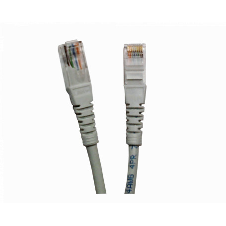 Cat6 entre 0,3 y 1,5mt Linkmade CP6G-10L CP6G-10L 1MT CAT6 GRIS LSZH CABLE PATCH INYECTADO MULTIFILAR