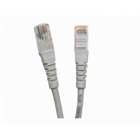 CP6G-03-4 -LINKMADE 4un 30cm CAT6 GRIS LSZH Cable Patch inyectado Multif 4x0,3mt
