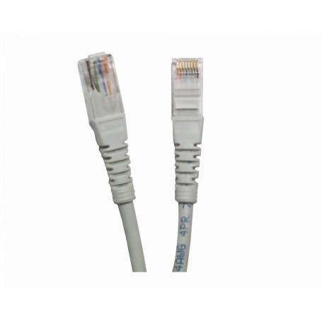 Cat6 entre 0,3 y 1,5mt Linkmade CP6G-03-4 CP6G-03-4 -LINKMADE 4un 30cm CAT6 GRIS LSZH Cable Patch inyectado Multif 4x0,3mt