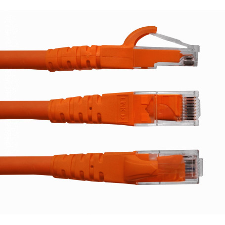 Cat6 entre 0,3 y 1,5mt Linkmade CP6B-03-4 CP6B-03-4 -LINKMADE 4u 30cm CAT6 NARANJO Cable Patch inyectado Multif 4x0,3mt