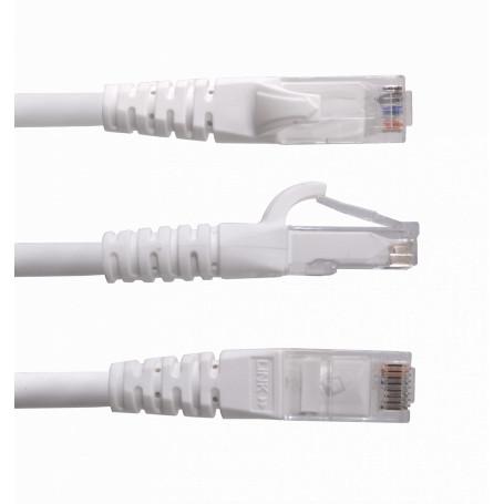 Cat6 entre 2,0 y 5,0mt Linkmade CP6W-40L CP6W-40L -LINKMADE 4mt Cat6 U/UTP Blanco LSZH Cable Patch Inyectado Multifilar