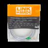Cat6 entre 2,0 y 5,0mt Linkmade CP6G-40L CP6G-40L -LINKMADE 4mt Cat6 U/UTP Gris LSZH Cable Patch Inyectado Multifilar