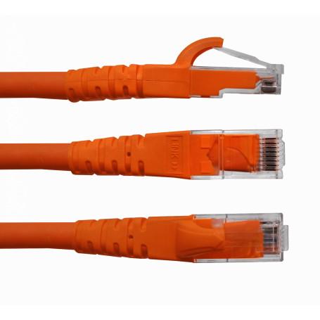 Cat6 entre 2,0 y 5,0mt Linkmade CP6B-30L CP6B-30L -LINKMADE 3MT CAT6 NARANJO LSZH CABLE PATCH INYECTADO MULTIFILAR