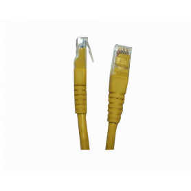 CP6M-30L -LINKMADE 3MT CAT6 AMARILLO LSZH CABLE PATCH INYECTADO MULTIFILAR