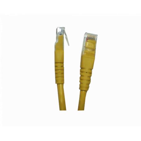 Cat6 entre 2,0 y 5,0mt Linkmade CP6M-20L CP6M-20L -LINKMADE 2MT CAT6 AMARILLO LSZH CABLE PATCH INYECTADO MULTIFILAR