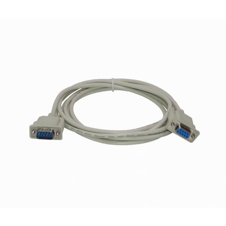 DB9 DE-09 / DB25 / CEN36 Generico DB9-3HM DB9-3HM -Straight 3mt DB9-Hembra-Macho 300cm Cable Serial Directo DE-09 RS232