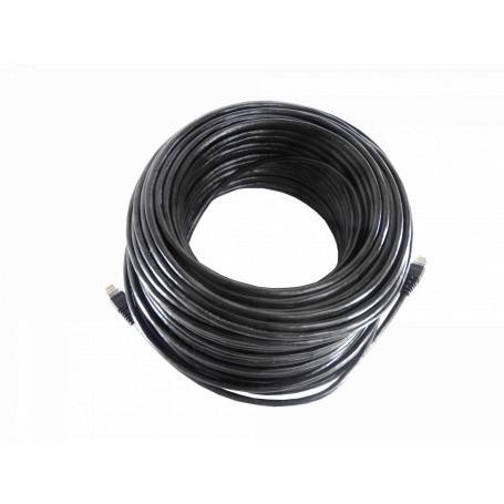 Cable UTP exterior Linkmade CPXN-500 CPXN-500 EXT 50MT MULTIF SF/UTP NEGRO CAT5E