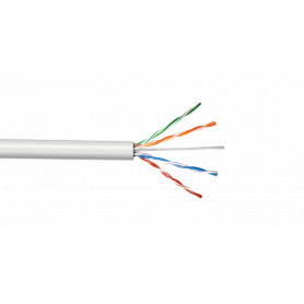 CBL-MW3 -LINKMADE UTP Blanco Cobre Cat5E Multifilar 305mt Cable para
