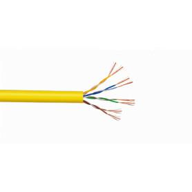 CBL-MM3 -LINKMADE UTP Amarillo Cobre Cat5E Multifilar 305mt Cable para Patch