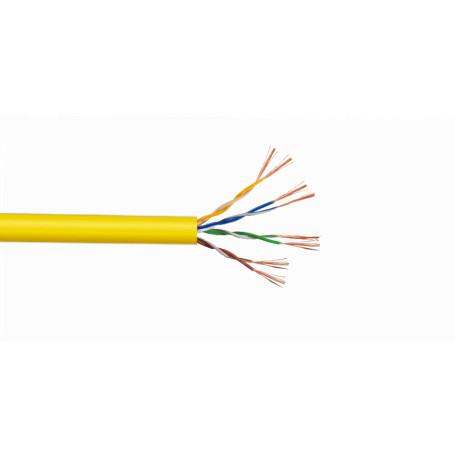 Multif. Interior/Exterior Linkmade CBL-MM3 CBL-MM3 -LINKMADE UTP Amarillo Cobre Cat5E Multifilar 305mt Cable para Patch