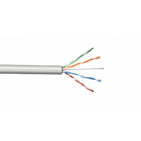 Multif. Interior/Exterior Linkmade CBL-MG1 CBL-MG1 -LINKMADE UTP Gris Cobre Cat5E Multifilar 100mt Cable para Patch