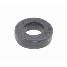 J100-4P -Plano 4-Conductores Blanco/Gris/Ivory 100mts Cable Telefonico