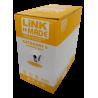 Unif. cat6 cobre Linkmade CB6L-UG3 CB6L-UG3 GRIS CAT6 UTP 305MT UNIFILAR COBRE CAJA CABLE