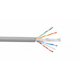 CB6U-UG3 -LINKCHIP no-certifica AWG23/0,57mm Sim6 PVC Gris Cable UTP 305mt Cobre