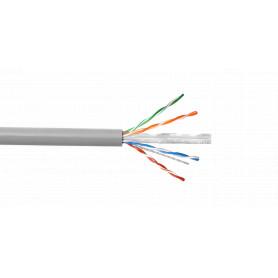 CB6C-UG3 -LINKCHIP AWG24/0,5mm CCA Similar-Cat6 Gris Cable UTP 305mt Aleacion