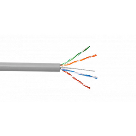 Unif. aleacion LinkChip CBH-UG3 CBH-UG3 AWG25/0,45mm CCA Similar-Cat5e Gris Cable UTP 305mt Aleacion