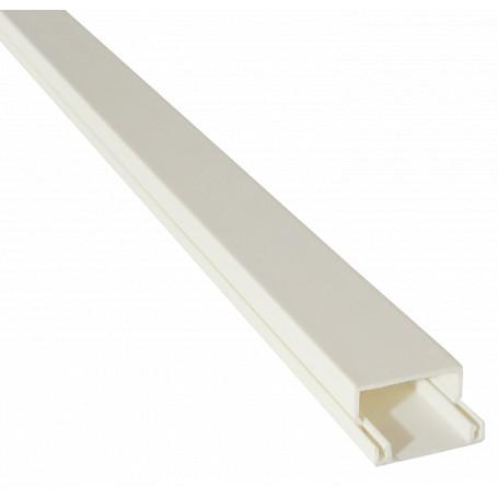 Canaleta 20x10 LinkChip CC-2010-W CC-2010-W Canaleta PVC 20x10mm con-Tapa 2mt