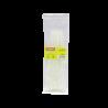 Amarra Plastica Kamasa CV-22W CV-22W -KAMASA 50-un 200x2,5mm Blanca Amarra Plastica Nylon 2.5x200mm KM-1442