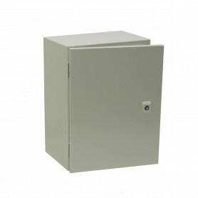 ST3-420 -TIBOX 400x300x200mm 1-chapa/sin-Llave Caja Metalica IP66 Beige