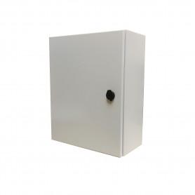 ST4-520 -TIBOX 500x400x200mm 1-chapa-sin/Llave Caja Metalica IP66 Beige