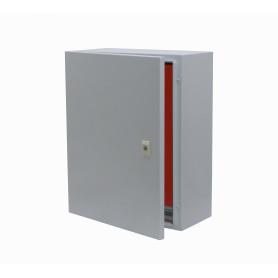 SA7525 -SAIME 400x300x200mm 1-chapa/sin-Llave Caja Metalica IP54 Beige