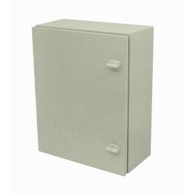 SA7535 -SAIME 500x400x200mm 2-chapas-sin/Llave Caja Metalica IP54 Beige