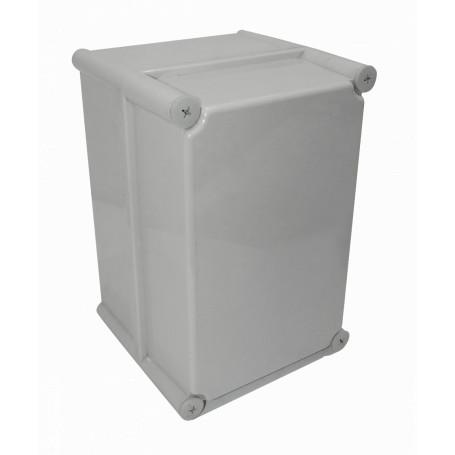 Caja Gabinete Plastico TIBOX TJ-AG-2819-1 TJ-AG-2819-1 -TIBOX 280x190x180mm Tapa-Gris Caja-Gris Plastica IP66 RoHS c/Placa
