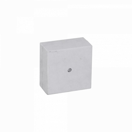 Caja Gabinete Plastico Generico MEC-01 MEC-01 MEC 65x65x35mm Caja Estanca Blanca 1-Tornillo