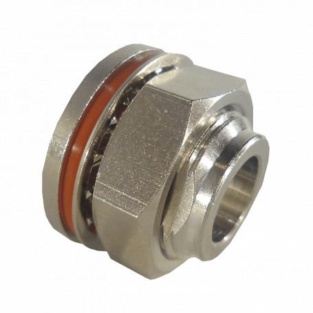 Tubo Metalico EMT LinkChip TAPA-N-METAL TAPA-N-METAL -ARC Tapon Metalico Tuerca c/Golilla O-Ring para espacios Conector-N
