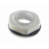 Entrada / Salida Plastica Generico TAPA-G-PLASTICA TAPA-G-PLASTICA -ARC TAPON TUERCA C/GOLILLA TRANSPARENTE PLASTICA 19mm