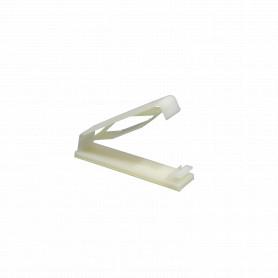 SU20007 -SUGO 8-unids. 64mm-Cable-Plano Clip Fijacion Adhesiva Base-20x77mm